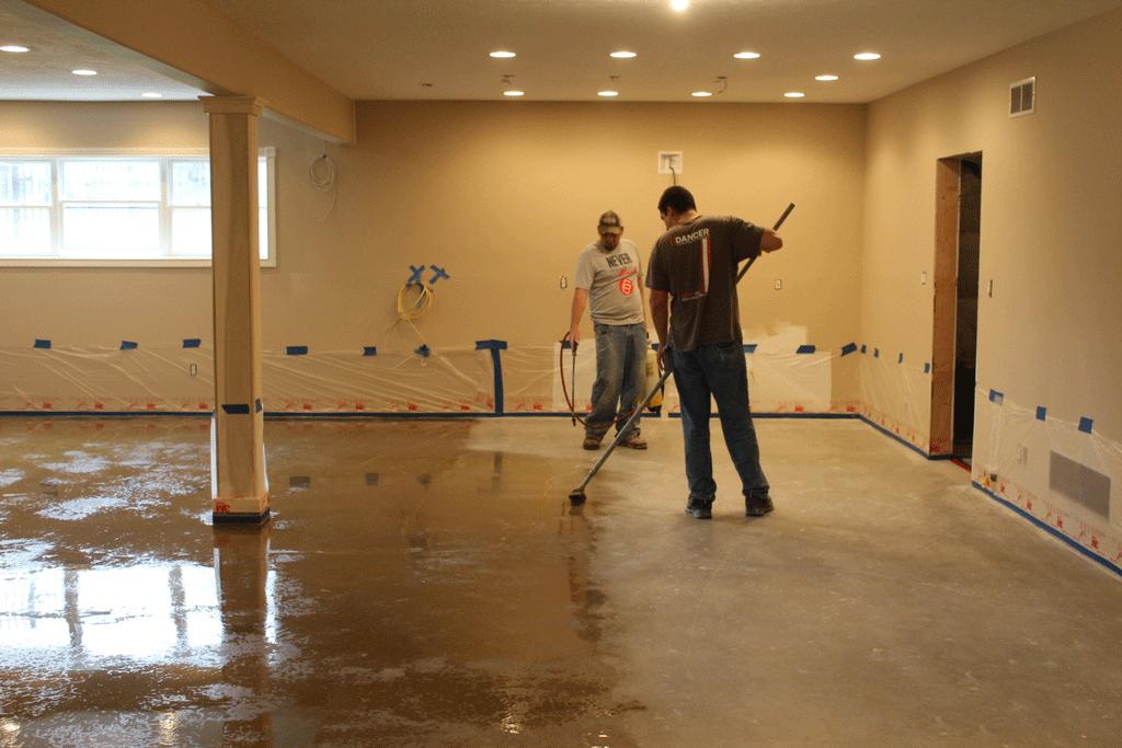 шліфаваны бетон